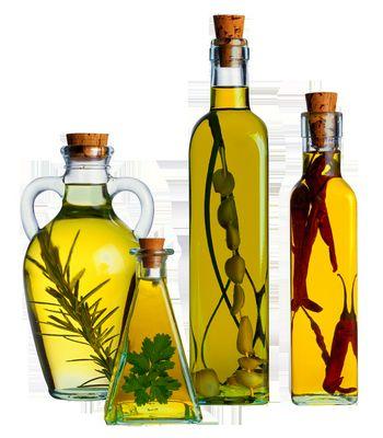 Оливкова олія і оливки