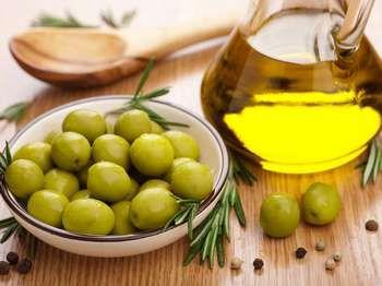 Оливки і масло