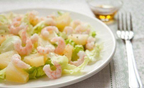 7 Рецептів повсякденних легких салатів з креветками