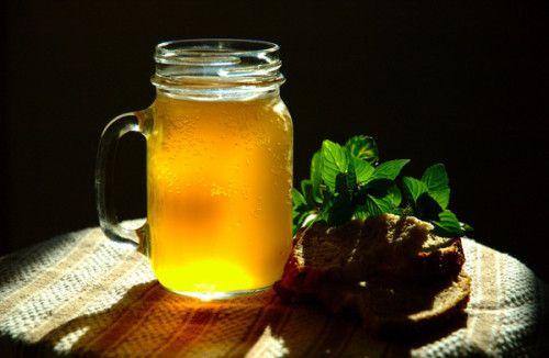 Березовий сік з медом