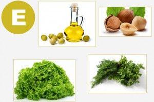 Перелік продуктів з високим вмістом вітаміну Е