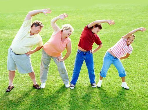 Фізична активність при надлишку маси тіла