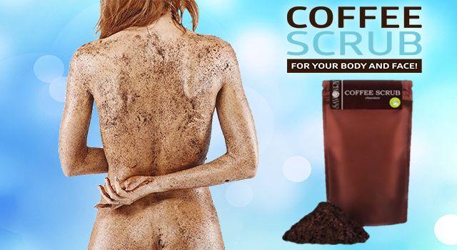 Coffee scrub з маслом виноградних кісточок від целюліту