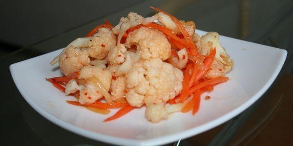 Цвітна капуста по-корейськи: швидкі, легкі і дуже смачні рецепти
