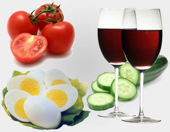 Дієта на сухому вині