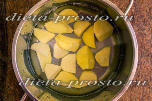 картопля покласти в воду