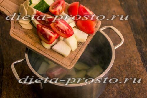 інгредієнти додайте до картоплі