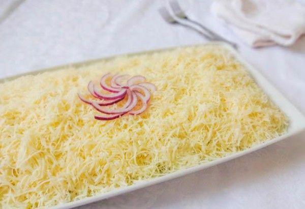 Фото-рецепт оригінального салату «чоловічий каприз»
