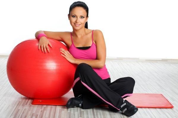 Гімнастичний м`яч для схуднення