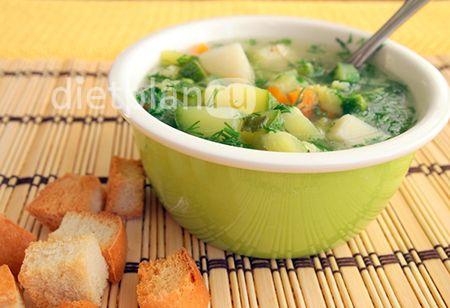 Італійський суп мінестроне