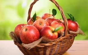 Яблуко корисні властивості