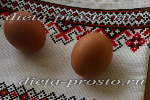 яйця відварити
