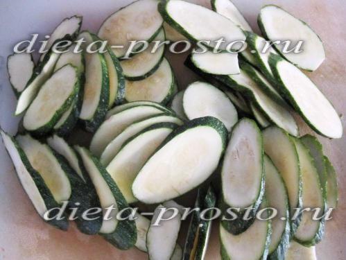 Кабачки мариновані швидкого приготування