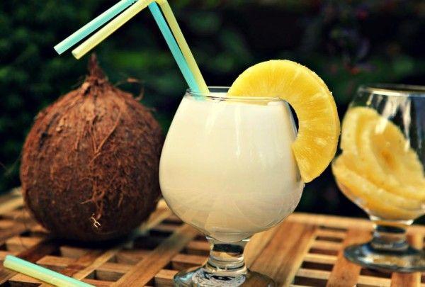 Як приготувати коктейль піна колада будинку: рецепти покроково