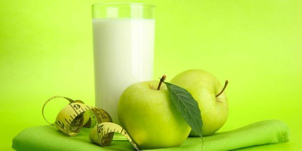 кефір і яблуко 2