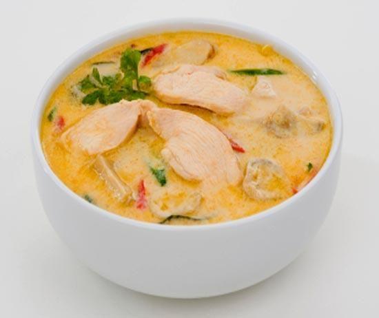 суп з куркою