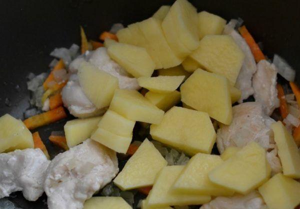 картопля порізати