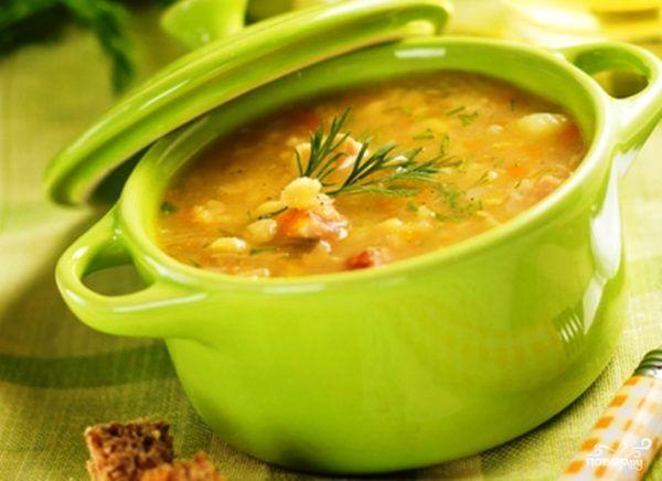 суп без м`яса