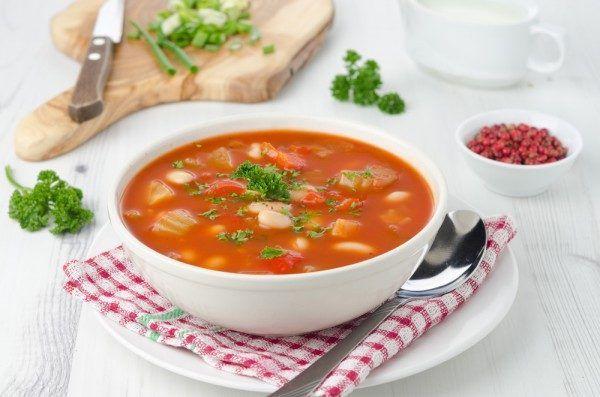 пісний квасолевий суп