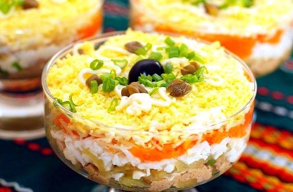 Як смачно приготувати салат «ніжність»: рецепти з фото