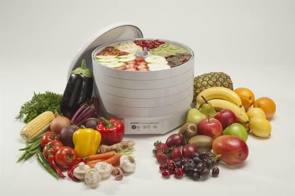 Як вибрати сушарку для овочів і фруктів