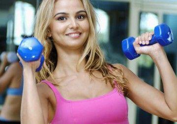 Комплекс вправ із застосуванням гантелей для розвитку грудних м`язів
