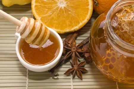 мед і лимон