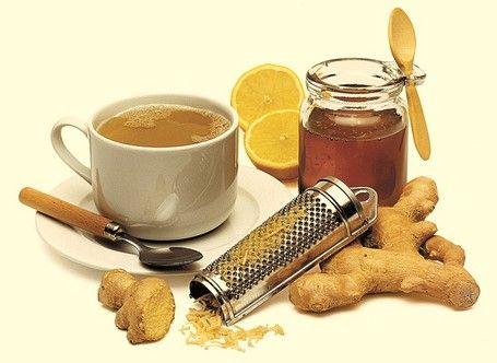 мед з імбиром