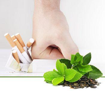 Чи можна позбутися від тютюнової залежності за допомогою спеціального чаю?
