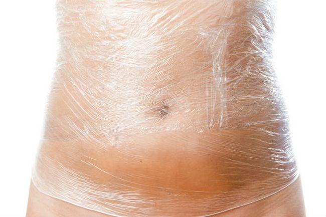 Обгортання для схуднення боків в домашніх умовах