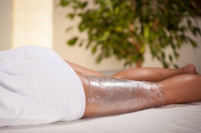 Обгортання для схуднення ніг в домашніх умовах
