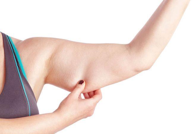 Обвисла шкіра на руках: як прибрати