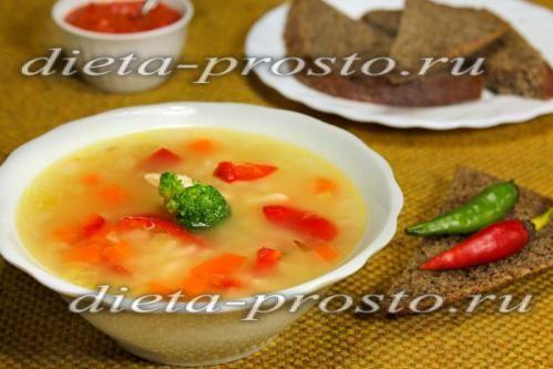 суп з гострим соусом