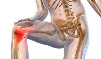 Малюнок болю в коліні