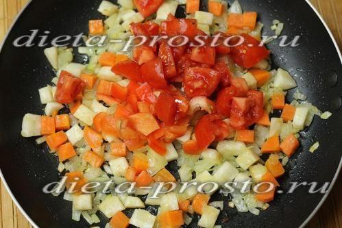 Додати перець і помідор