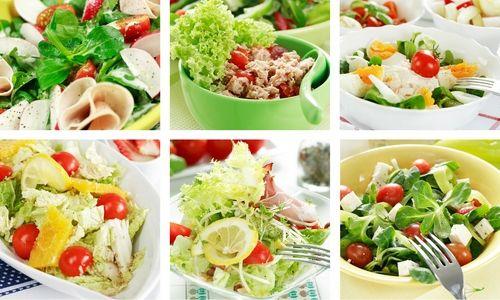 Овочеві дієтичні салати. 7 легких рецептів