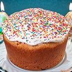 Великодній кекс низькокалорійний - рецепт з фото