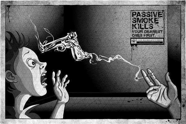 Пасивне куріння - в чому небезпека і наслідки