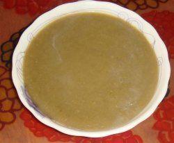 Пюре з кабачків або баклажанів