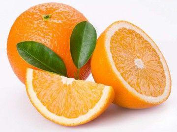 часточки апельсина