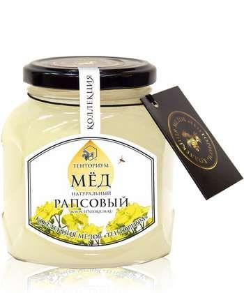 Баночка ріпакової меду