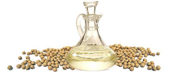 Зерна сої і масло