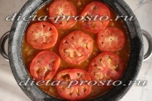 прикрашаємо помідорами