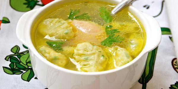 Як зробити галушки для супу: рецепт приготування