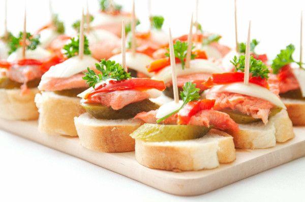 Рецепти апетитних бутербродів на день народження