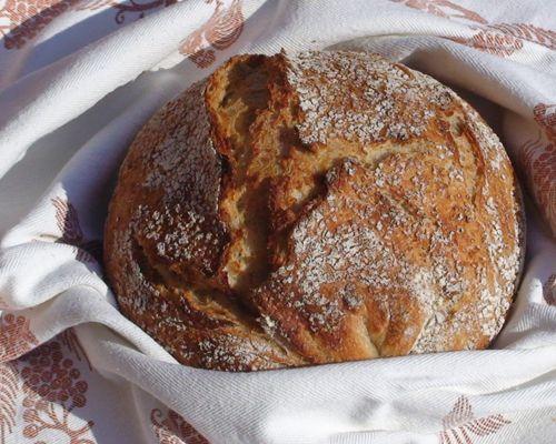 Рецепти бездріжджового хліба на заквасці