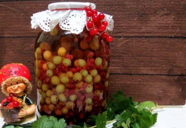 Рецепти фруктових компотів асорті на зиму