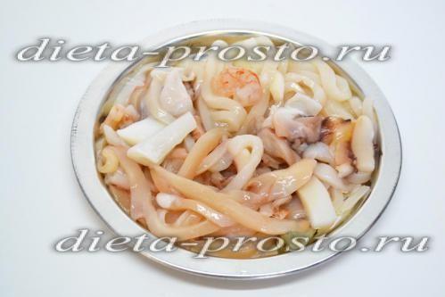 Розморозити морепродукти