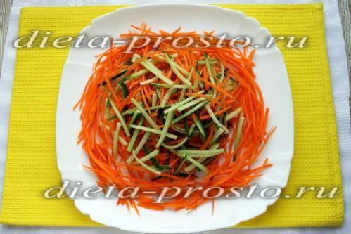 Розкласти морква по колу