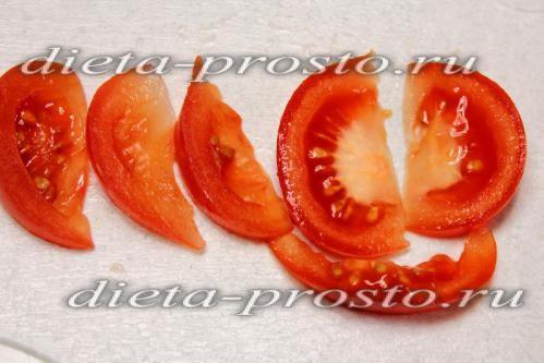помідори розрізати